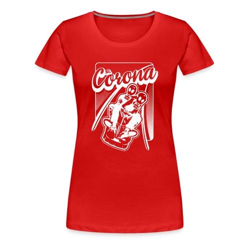 St. Corona Sommerrodelbahn - Frauen Premium T-Shirt