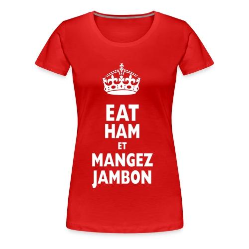eatham - Women's Premium T-Shirt