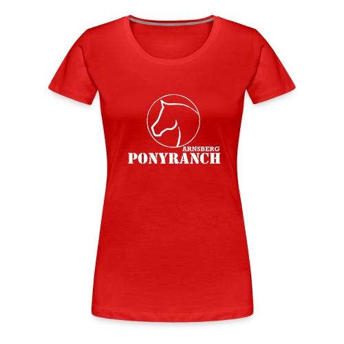 logospreadshirt150mmneu - Frauen Premium T-Shirt