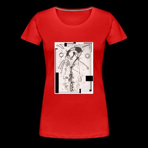 The Shah Do Ha Gallery Of Heaven s Pillar - Women's Premium T-Shirt