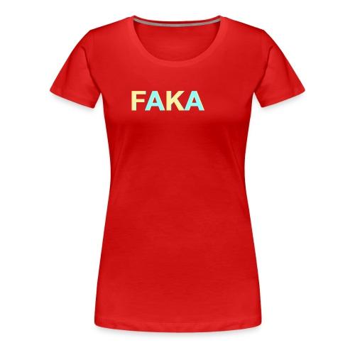design 2 - Vrouwen Premium T-shirt