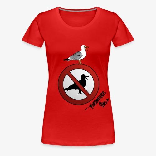 Against The Wave - T-shirt Premium Femme