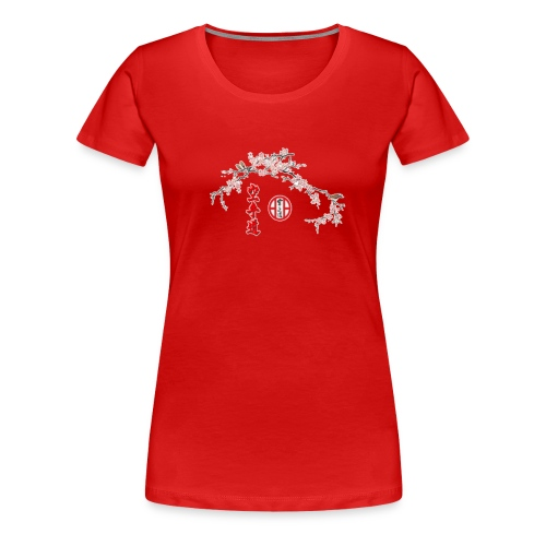 Branche cerisier gif - T-shirt Premium Femme
