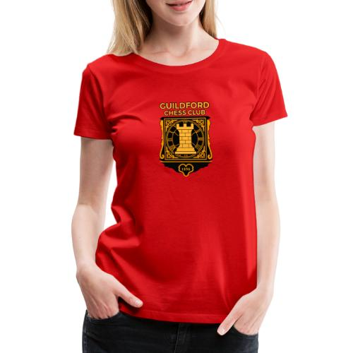 Guildford Chess Club - Women's Premium T-Shirt