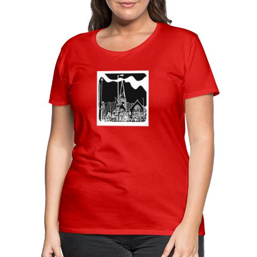Church iconic - Women's Premium T-Shirt