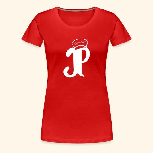 Jimini Prod' Logo Blanc - T-shirt Premium Femme