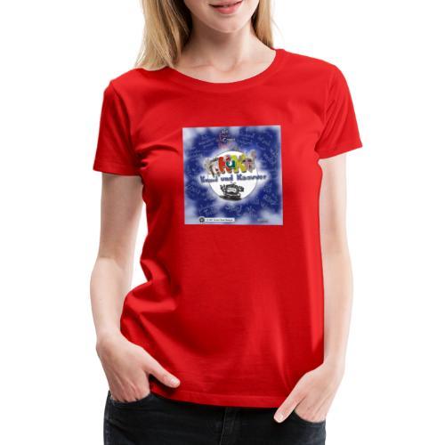 Web-Comic-Projekt Knuud und Ksavver - Frauen Premium T-Shirt
