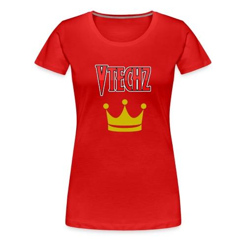 Vtechz King - Women's Premium T-Shirt
