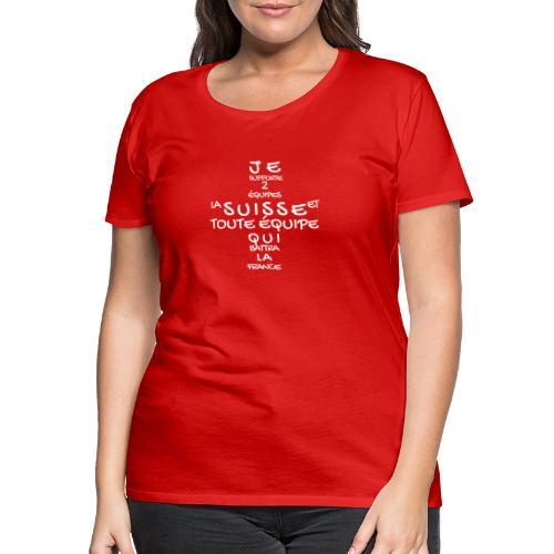 HopSuisse - Frauen Premium T-Shirt