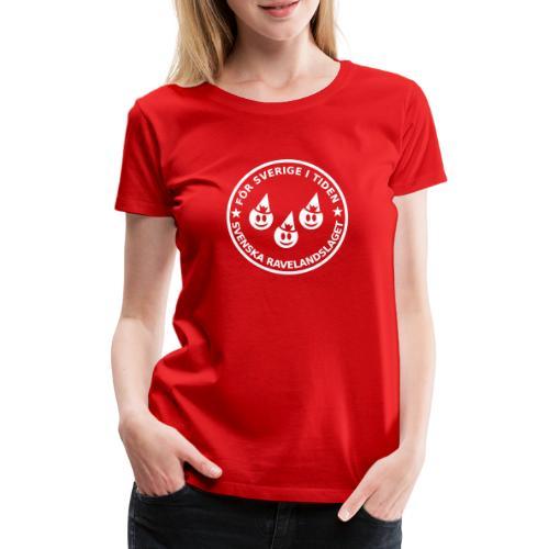 Svenska Ravelandslaget - Premium-T-shirt dam