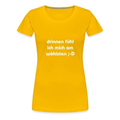 lustiger perverser text - Frauen Premium T-Shirt