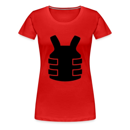 Bullet Proof Design - Women's Premium T-Shirt