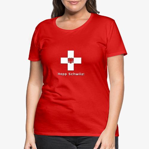 Adler & Kreuz - Frauen Premium T-Shirt