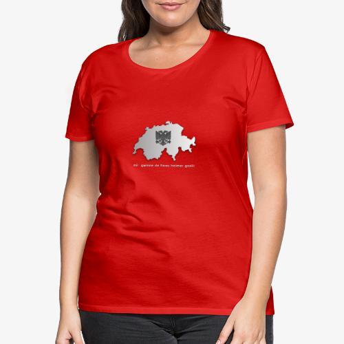 Schweiz & Albanien WM Shirt - Frauen Premium T-Shirt
