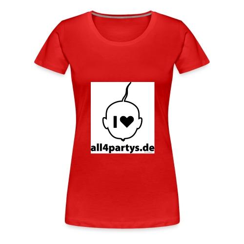ALL4PARTYS 2019 - Frauen Premium T-Shirt
