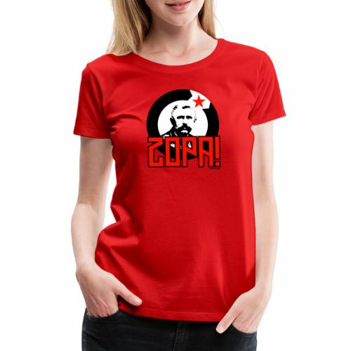 Zopa! - Vrouwen Premium T-shirt