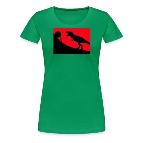 t rex red - Frauen Premium T-Shirt