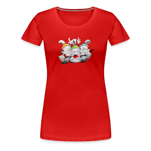 see no evil ! Tim Timmey - Dame premium T-shirt