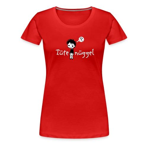 Tütenüggel (Kölsch, Karneval, Köln) - Frauen Premium T-Shirt