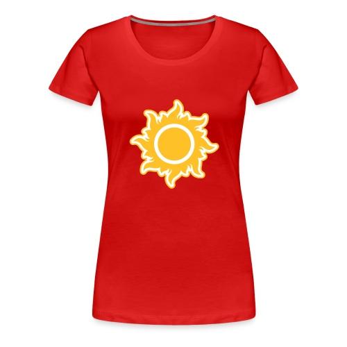 feurige Sonne sunshine Sommer summer Stern Star - Women's Premium T-Shirt
