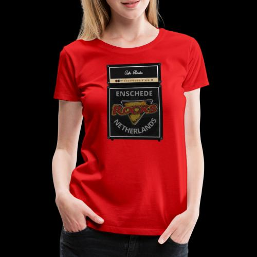 Rocks Amp Stack - Vrouwen Premium T-shirt