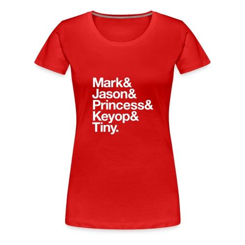 Always Five Acting As One - Women's Premium T-Shirt
