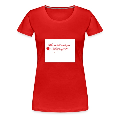 LoveYourselfTheMost - Women's Premium T-Shirt