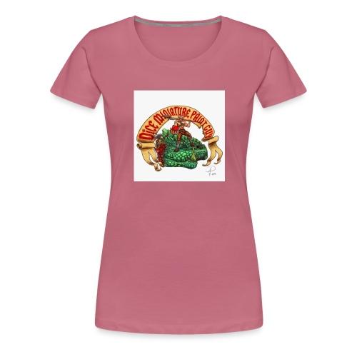DiceMiniaturePaintGuy - Women's Premium T-Shirt