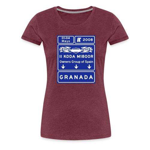 2kdda vec 2colores - Camiseta premium mujer