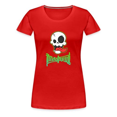 MAD SKULL - Standard - Maglietta Premium da donna