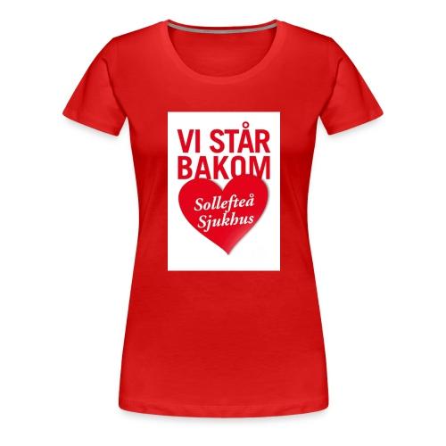 vi-sta--r-bakom-solleftea---sjukhus-1508-2 - Premium-T-shirt dam