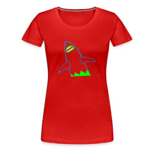 Shark Attack - Frauen Premium T-Shirt