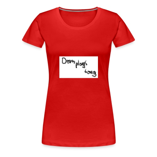 dom plays song - Women's Premium T-Shirt