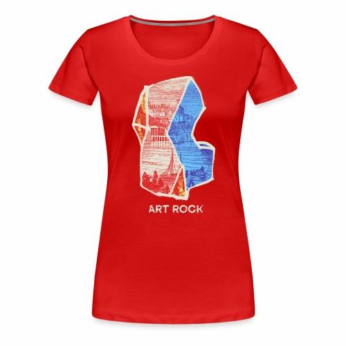 ART ROCK No 3 colour - Vrouwen Premium T-shirt