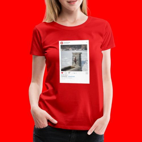 travelsuisse - Brunnen Trin - Frauen Premium T-Shirt