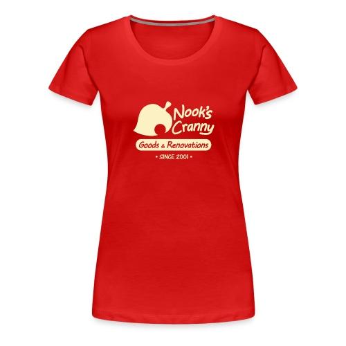 Nook s Cranny logo - Women's Premium T-Shirt