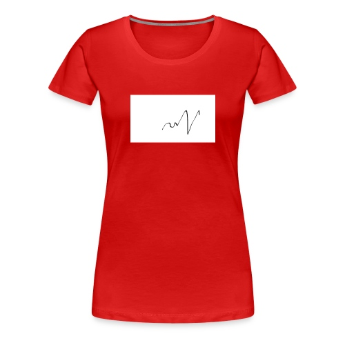 ritmo del cuore - Maglietta Premium da donna