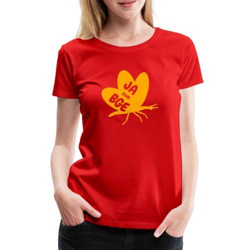 BGE - Frei sein wie ein Schmetterling - Frauen Premium T-Shirt