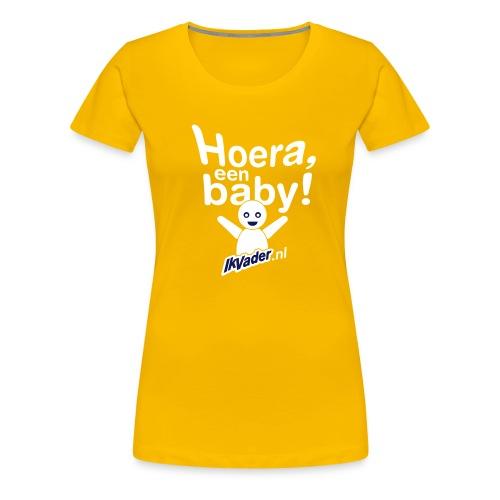 HoeraB distort2 - Vrouwen Premium T-shirt
