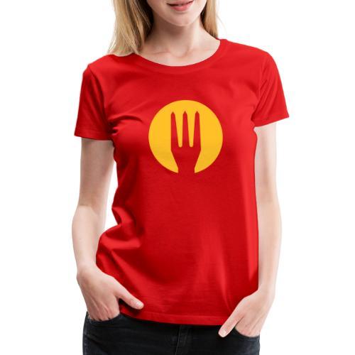 diables rouges shirt Belgium - Belgique trident - T-shirt Premium Femme