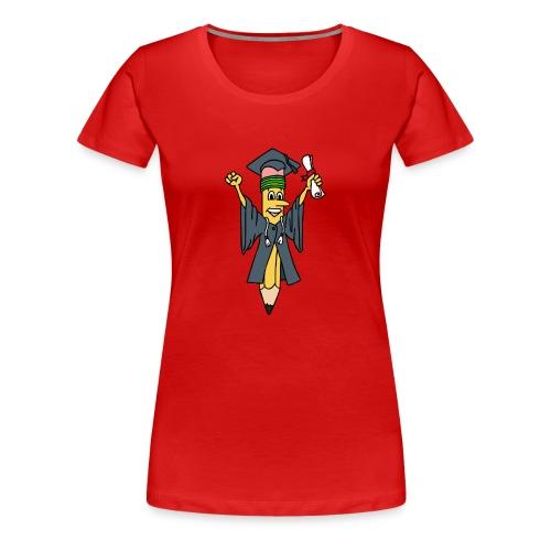Geslaagd potlood - Vrouwen Premium T-shirt