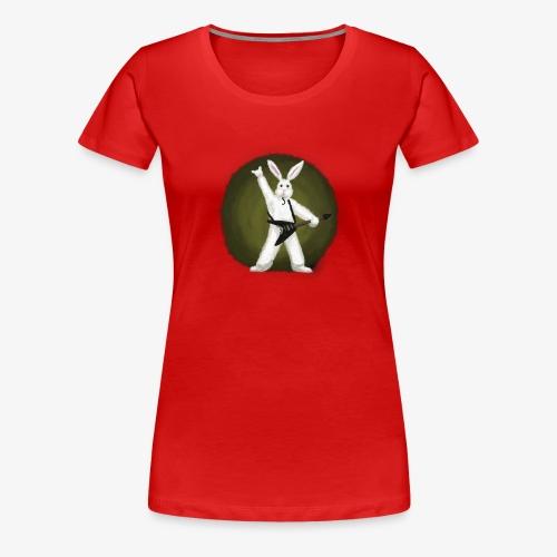 Metal Bunny - Premium T-skjorte for kvinner