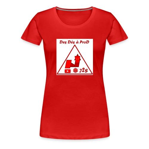 Ddaprod big 2018 - T-shirt Premium Femme