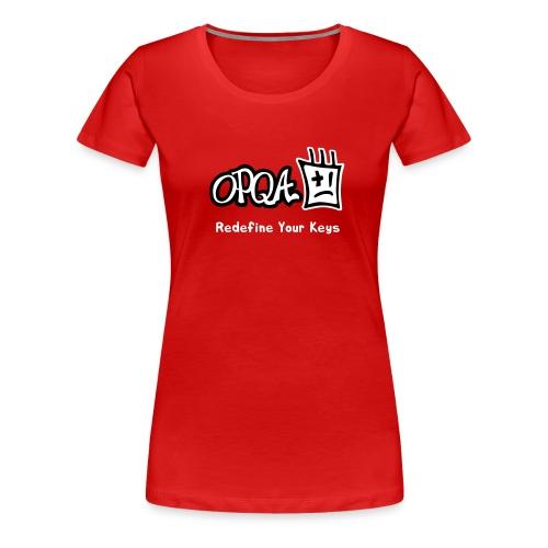 Logo OPQA - Camiseta premium mujer