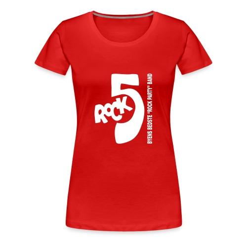 rock5 bbrpb - Dame premium T-shirt