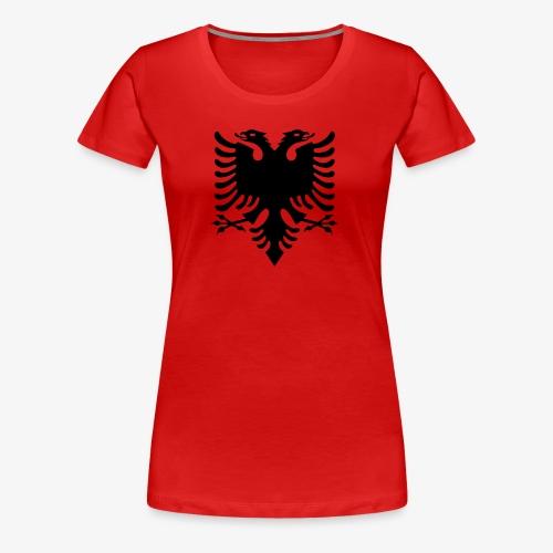 Shqiponja - das Wappen Albaniens - Frauen Premium T-Shirt