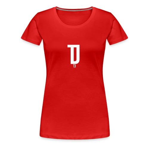 TJ_white_ - Frauen Premium T-Shirt