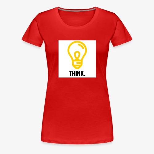 THINK - Maglietta Premium da donna