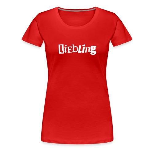 linkepv liebling weiss - Frauen Premium T-Shirt