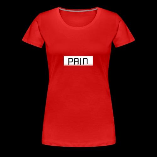 pain - Koszulka damska Premium
